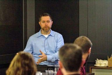 Brandon Merdalo, VP of Webanywhere