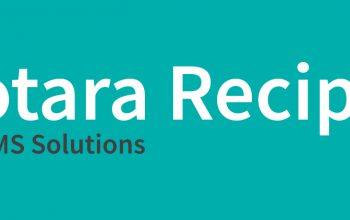 Totara Recipes text on banner photo