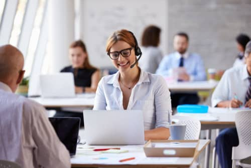 Learning management systems for customer service training