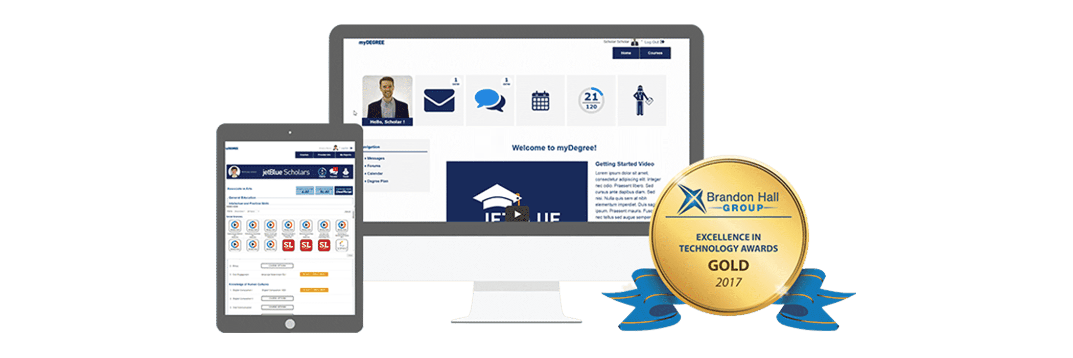 Award-Winning MyDegree Platform