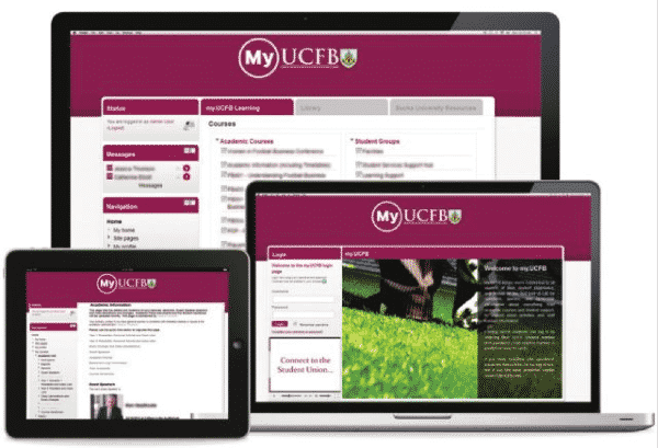 UCFB learning management system