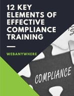 compliance training ebook
